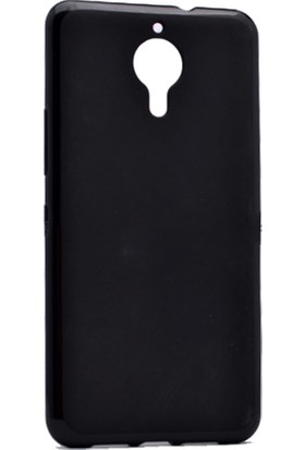 Case 4U General Mobile Gm5 Kılıf Slim Fit Silikon Siyah + Cam Ekran Koruyucu*