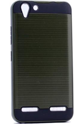 Case 4U Lenovo K5 Korumalı Kapak Yeşil*