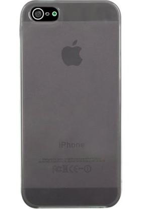 Case 4U Apple iPhone Se 0,3 Mm Ultra İnce Silikon Kılıf Siyah