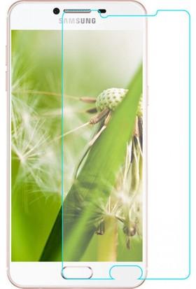 Case 4U Samsung Galaxy C7 Cam Ekran Koruyucu