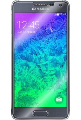 Case 4U Samsung Galaxy Alpha Ultra Şeffaf Ekran Koruyucu