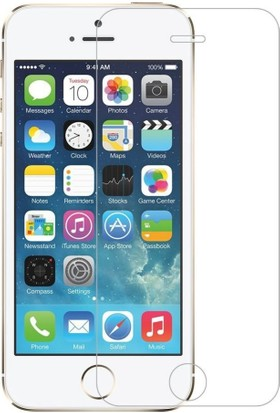 Case 4U Apple iPhone 5/5s Ekran Koruyucu (,Cizilmez Anti Shock)