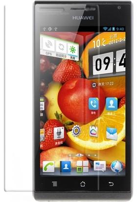 Case 4U Huawei Ascend P1 Ekran Koruyucu ( Ultra Şeffaf Parmak izi bırakmaz )