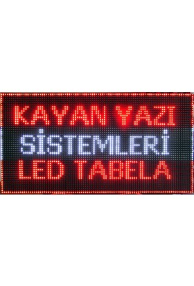 Ledart 128Cm X 32Cm Beyaz Çift Yönlü Led Tabela