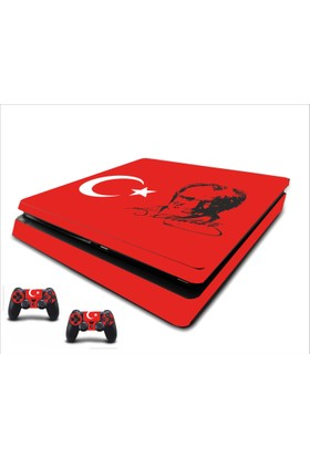 StickerMarket PS4 Slim Atatürk Sticker Seti