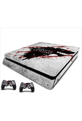 StickerMarket PS4 Slim Game of Thrones 1 Sticker Seti