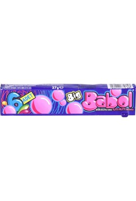 Big Babol 6'lı Tutti Frutti 18 Adet