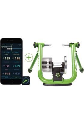 Kinetic Trainer T-2700 Road Machine Smart Yeşil