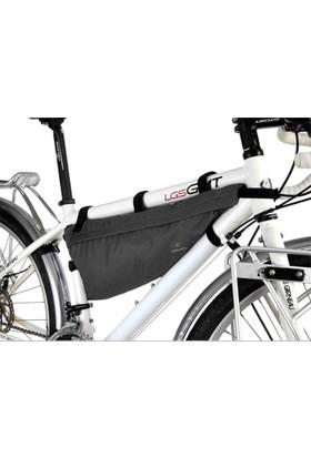 Konnix Kadro Arası Tur Çantası Bikepacking Siyah