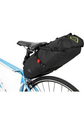 Konnix Sele Altı Tur Çantası Large Bikepacking Siyah