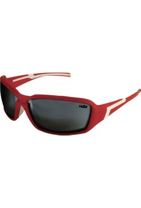 Lazer Gözlük Xenon 1x1 Mat Kırmızı Unisex Kırmızı