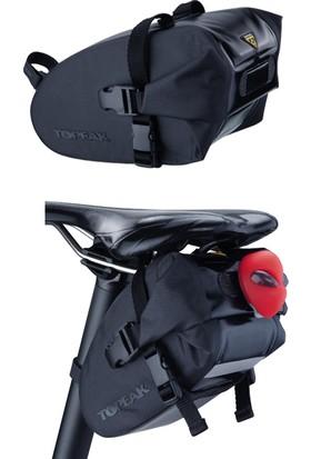 Topeak Sele Altı Çanta Wedge DryBag Strap Large Siyah