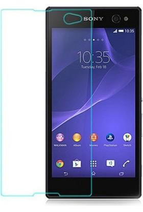 Case 4U Sony Xperia C3 Cam Ekran Koruyucu