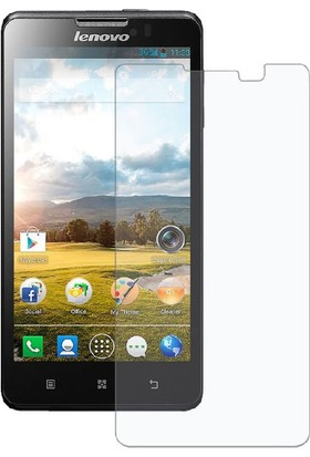 Case 4U Lenovo A1000 Cam Ekran Koruyucu