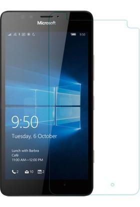 Case 4U Microsoft Lumia 950 Cam Ekran Koruyucu