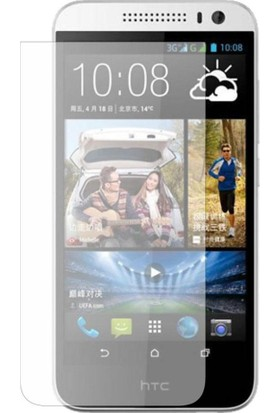 Case 4U HTC Desire 616 Dual Sim Ultra Şeffaf Ekran Koruyucu