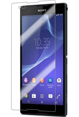Case 4U Sony Xperia T2 Ultra Dual Ultra Şeffaf Ekran Koruyucu