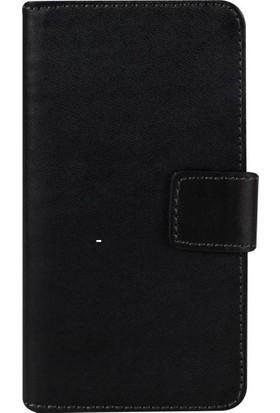 Case 4U Sony Xperia Z3 Compact Siyah Cüzdan Kılıf