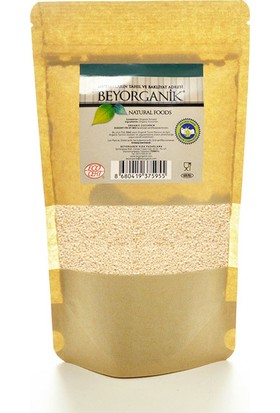 Beyorganik Gıda Organik Çiğ Susam (Kavrulmamış Susam) 100 Gr