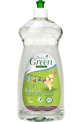 Mom'S Green Baby'S Green Organik Biberon Temizleyici - Kokusuz - 500 Ml