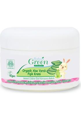 Mom'S Green Baby'S Green Organik Pişik Kremi - Aloe Veralı 100 Ml