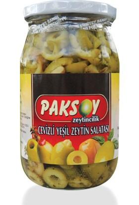 Paksoy Cevizli Yeşil Zeytin Salatası Acılı 350 Gr