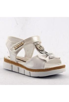 Pienn Günlük Yürüyüş Cırtlı Kız Çocuk Sandalet Ayakkabı