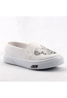 Shonex 21 Günlük Keten Kız Çocuğu Babet Spor Ayakkabı