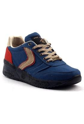 Pro Active 979 Günlük Yürüyüş Koşu Kot Erkek Çocuğu Spor Ayakkabı
