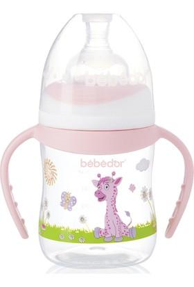 Bebedor Desenli Geniş Ağız Kulplu Biberon 150 ml