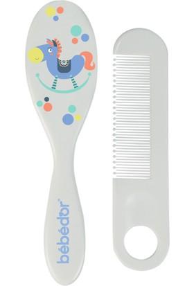 Bebedor Desenli Tarak Fırça Seti