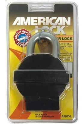 Amerıcan Lock A107Vl Çelik Asma Kilit