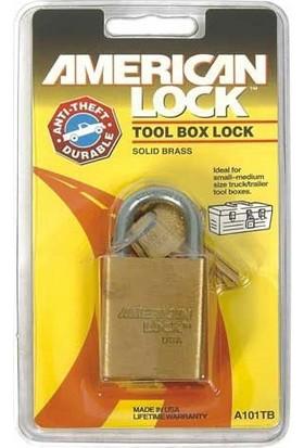 Amerıcan Lock A103Tb Paslanmaz Pirinç Asma Kilit