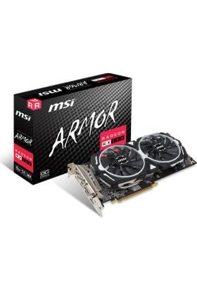 MSI AMD Radeon RX 580 ARMOR 8G OC 8GB 256 bit GDDR5 DX(12) PCI-E 3.0 Ekran Kartı (RX 580 ARMOR 8G OC)
