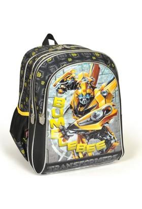 Yaygan Transformers Bumblebee Kabartmalı Okul Çantası 53093
