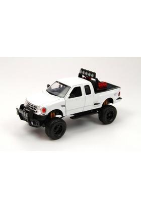 Motor Max 1:24 Die-Cast Arazi Aracı Kamyonet (Beyaz)