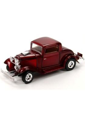 Motor Max 1:24 1932 Ford Coupe (Bordo)