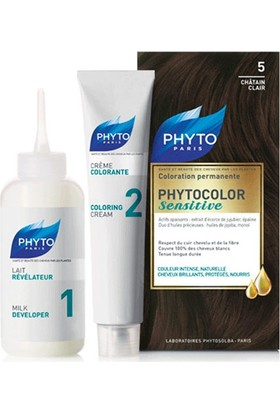 Phyto Phytocolor Sensitive Saç Boyası 5 Açık Kestane