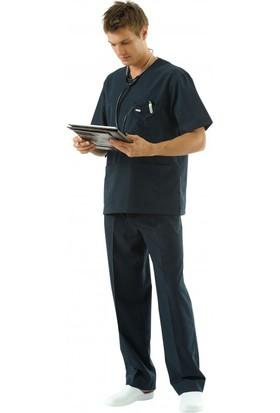 Tipmod Doktor Hemşire Üniforması Nöbet Takımı Erkek 228 İndigo