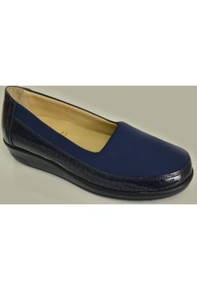 Dr.Comfort Bayan Diyabet Ayakkabı DR.2000 Stretch Lacivert
