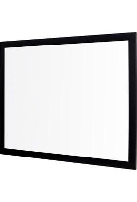 Penguen 120 cm x 200 cm Lüks Mdf Çerçeve Duvara Monte Laminat Yazı Tahtası Beyaz