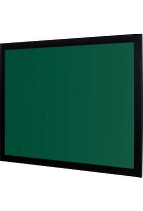 Penguen 100 cm x 140 cm Lüks Mdf Çerçeve Duvara Monte Yeşil Tahta (Tebeşir Tahtası)