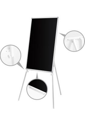 Penguen 65 cm x 100 cm Teleskopik Ayaklı Kara Tahta (Tebeşir Tahtası)