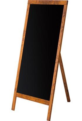 Penguen 45 cm x 110 cm Menü Tahtası Kara Tahta (Tebeşir Tahtası)