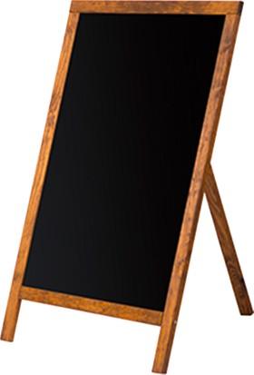 Penguen 50 cm x 70 cm Menü Tahtası Kara Tahta (Tebeşir Tahtası)