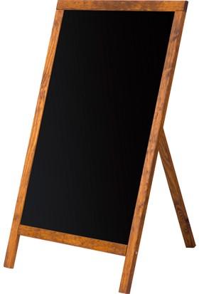 Penguen 60 cm x 100 cm Menü Tahtası Kara Tahta (Tebeşir Tahtası)