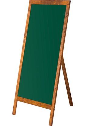 Penguen 45 cm x 110 cm Menü Tahtası Yeşil Tahta (Tebeşir Tahtası)