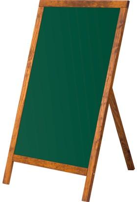 Penguen 60 cm x 90 cm Menü Tahtası Yeşil Tahta (Tebeşir Tahtası)