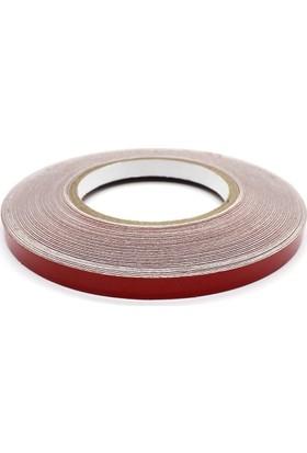 ModaCar 1 Cm Genişlik Kırmızı Fosfor Şerit 25 Mt 540051