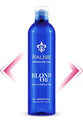 Raliss Blond Oıl (250Ml) Amonyaksız Özel Saç Açıcı Yağ